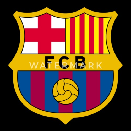 1010px Fc Barcelona Crest Svg By Spreadshirt
