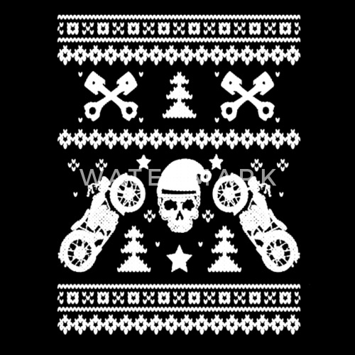 biker christmas shirt by spreadshirt - Biker Christmas