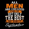 All men the best are born in September shirt - Men's Premium T-Shirt