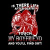 is there life after death touch my boyfriend and y - Men's Premium T-Shirt