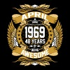 April 1969 48 Years Of Being Awesome - Men's Premium T-Shirt