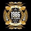 July 1986 31 Years Of Being Awesome - Men's Premium T-Shirt