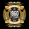 August 1960 57 Years Of Being Awesome - Men's Premium T-Shirt