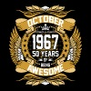October 1967 50 Years Of Being Awesome - Men's Premium T-Shirt