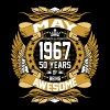 May 1967 50 Years Of Being Awesome - Men's Premium T-Shirt