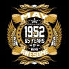 May 1952 65 Years Of Being Awesome - Men's Premium T-Shirt