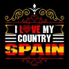 I Love My Country Spain - Men's Premium T-Shirt