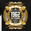 May 1962 55 Years Of Being Awesome - Men's Premium T-Shirt