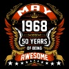 May 1968 50 Years Of Being Awesome - Men's Premium T-Shirt