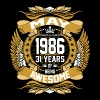 May 1986 31 Years Of Being Awesome - Men's Premium T-Shirt