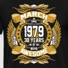 March 1979 38 Years Of Being Awesome - Men's Premium T-Shirt