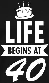 Life at 40 for men
