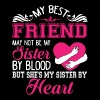 She's My Sister By Heart T Shirt - Men's Premium T-Shirt