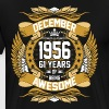 December 1956 61 Years Of Being Awesome - Men's Premium T-Shirt