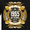 May 1955 62 Years Of Being Awesome - Men's Premium T-Shirt