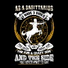 As a cansagittarius er I have 3 sides - Men's Premium T-Shirt