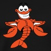 Cartoon Lobster - Men's Premium T-Shirt
