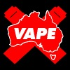 VAPE Red AU - Men's Premium T-Shirt