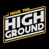 I Have the High Ground - Men's Premium T-Shirt