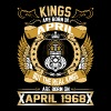 The Real Kings Are Born On April 1968 - Men's Premium T-Shirt