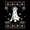 Dalmatian Ugly Christmas Sweater - Men's Premium T-Shirt