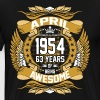 April 1954 63 Years Of Being Awesome - Men's Premium T-Shirt