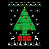 Chemist-Tree Christmas - Men's Premium T-Shirt
