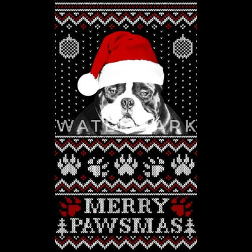 pitbull ugly christmas sweater by spreadshirt