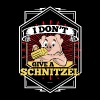I Don't Give A Schnitzel German Beer Oktoberfest - Men's Premium T-Shirt
