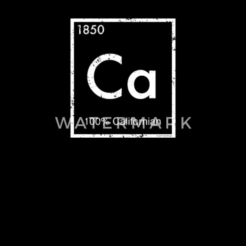Periodic Element Shirt California Periodic Table By Kentuckygirlteez