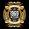 January 1969 48 Years Of Being Awesome - Men's Premium T-Shirt