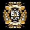 October 1978 39 Years Of Being Awesome - Men's Premium T-Shirt