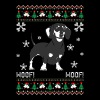 Dachshund Ugly Christmas Sweater - Men's Premium T-Shirt