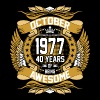 October 1977 40 Years Of Being Awesome - Men's Premium T-Shirt
