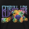pitbull love - Men's Premium T-Shirt