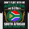 Dont Flirt With Me I Love My Girl South African - Men's Premium T-Shirt