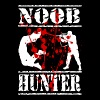 noob hunter best gamer shirt in town gaming life - Men's Premium T-Shirt
