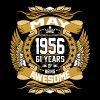 May 1956 61 Years Of Being Awesome - Men's Premium T-Shirt