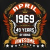 April 1969 49 Years Of Being Awesome - Men's Premium T-Shirt