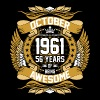 October 1961 56 Years Of Being Awesome - Men's Premium T-Shirt