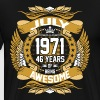 July 1971 46 Years Of Being Awesome - Men's Premium T-Shirt