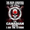 The Devil Whispers You Cant Withstand The Storm Ca - Men's Premium T-Shirt