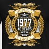 November 1977 40 Years Of Being Awesome - Men's Premium T-Shirt