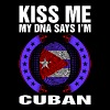 Kiss Me My DNA Says Im Cuban - Men's Premium T-Shirt