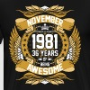November 1981 36 Years Of Being Awesome - Men's Premium T-Shirt