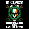 The Devil Whispers You Cant Withstand The Storm Ir - Men's Premium T-Shirt