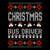 Bus Driver Ugly Christmas Sweater - Men's Premium T-Shirt