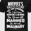 Midwife's Husband Shirt - Men's Premium T-Shirt