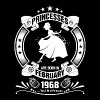 Princess are Born in February 1968 - Men's Premium T-Shirt
