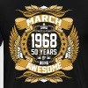 Mar 1968 50 Years Awesome - Men's Premium T-Shirt